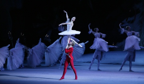 Crédito: Damir Yusupov - Bolshoi/Divulgação. O Quebra-nozes, do ballet Bolshoi.